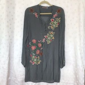 Women's silk tunic.